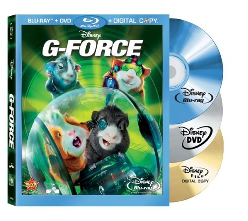 G Force G Force Blu Ray Ws Pg 2 Br Incl. DVD Dc