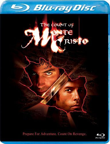 Count Of Monte Cristo (2002) Caviezel Pearce Blu Ray Ws Pg13
