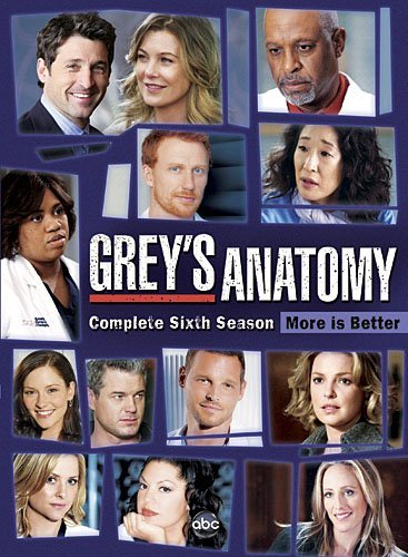 Grey's Anatomy Season 6 DVD Nr