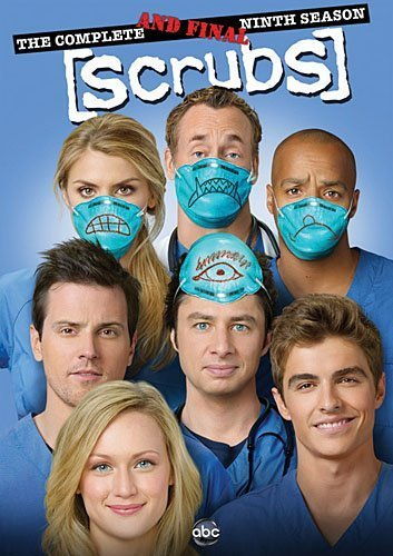 Scrubs Season 9 Final Season DVD Scrubs Complete & Final 9th S