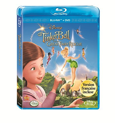 Tinker Bell & The Great Fairy Disney Blu Ray G Ws