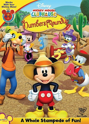 Numbers Roundup Mickey Mouse Clubhouse Mickey Mouse Clubhouse
