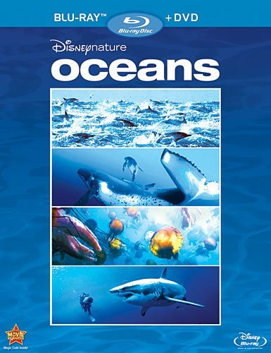 Disneynature Oceans Blu Ray DVD G