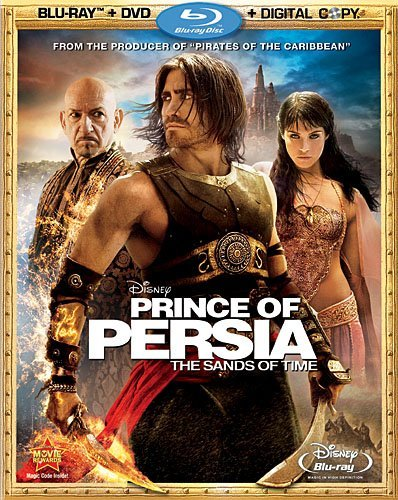 Prince Of Persia Sands Of Time Gyllenhaal Kingsley Arterton M Blu Ray Ws Pg13 Incl. DVD