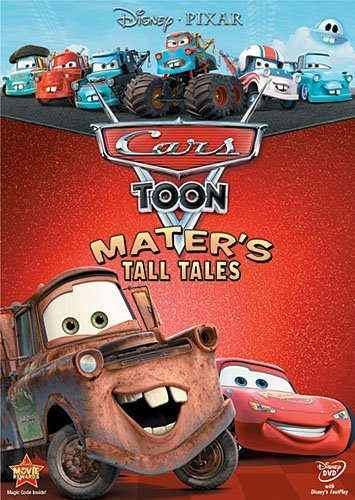 Mater's Tall Tales Cars Toon Ws Nr