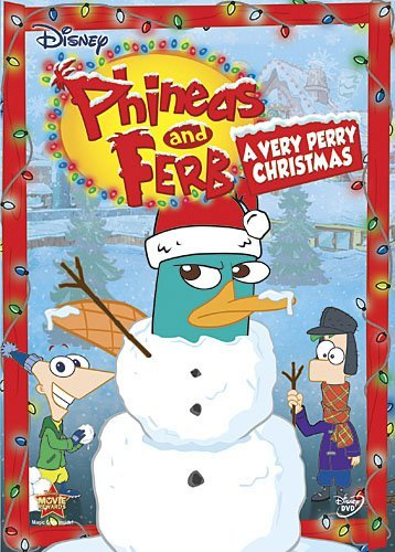 Phineas & Ferb Very Perry Christmas Ws Very Perry Christmas