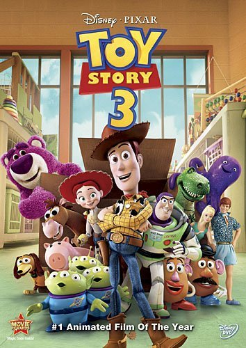 Toy Story 3 Disney DVD G