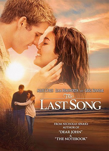 Last Song Cyrus Hemsworth Kinnear DVD Pg Ws