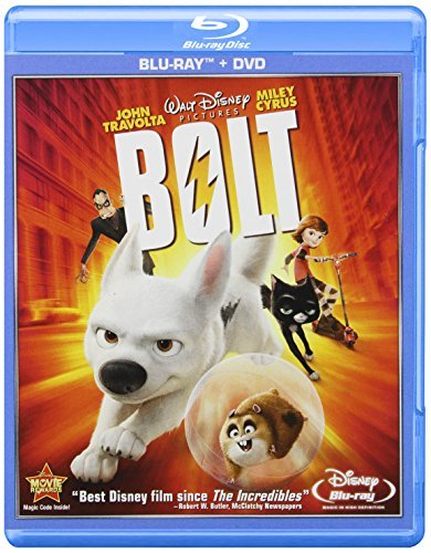 Bolt Bolt Blu Ray Ws Pg Incl. DVD