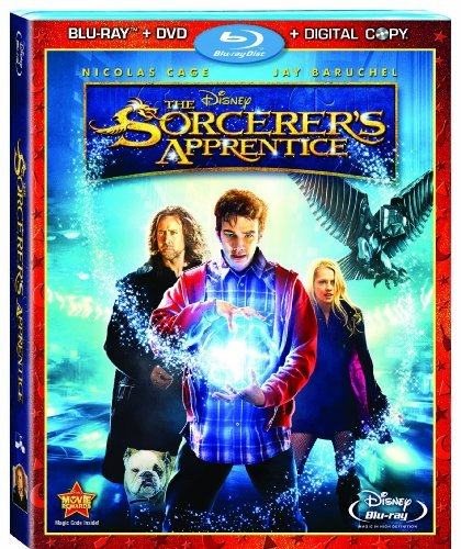 Sorcerer's Apprentice (3 Disc Cage Molina Baruchel Blu Ray Ws Pg 2 Br Incl. DVD Dc