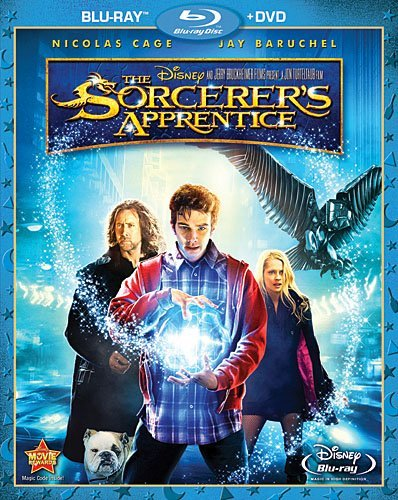 Sorcerer's Apprentice (2 Disc Cage Molina Baruchel Blu Ray Ws Pg Incl. DVD