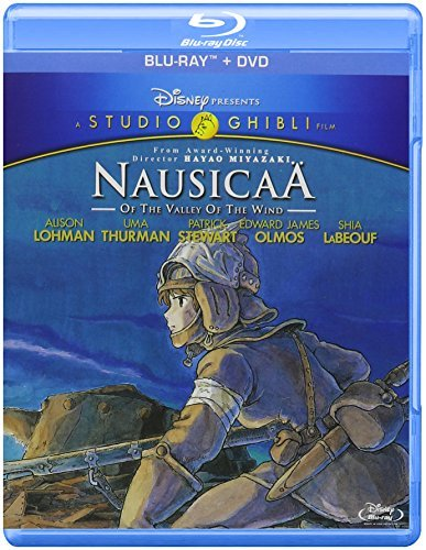 Nausicaa Of The Valley Of The Wind Miyazaki Blu Ray DVD Pg