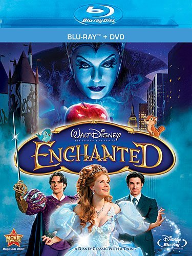 Enchanted Dempsey Adams Marsden Sarandon Blu Ray DVD Pg