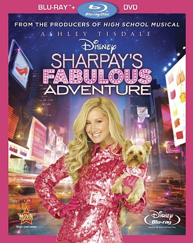 Sharpays Fabulous Adventure Tisdale Butler Goodman Blu Ray Ws Nr Incl. DVD