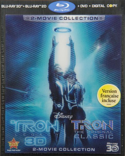 Tron Legacy 3d Bridges Hedlund Wilde Boxleitn Blu Ray 3d Ws Pg 4 Br Incl. DVD