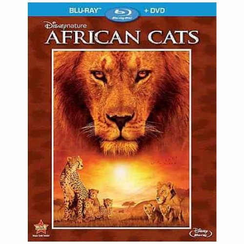African Cats Disneynature Blu Ray Ws G Incl. DVD