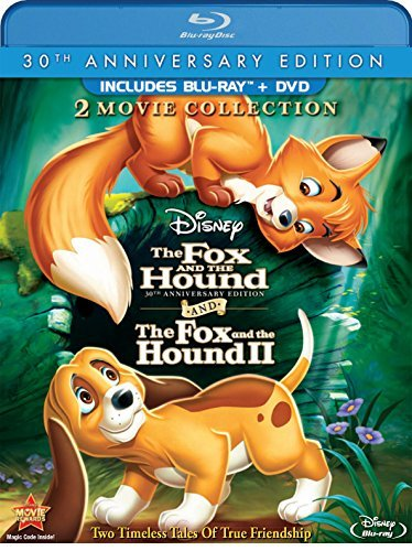 Fox & The Hound Fox & The Houn Fox & The Hound Fox & The Houn Blu Ray Ws 30th Anniv. Ed. G 2 Br Incl. DVD