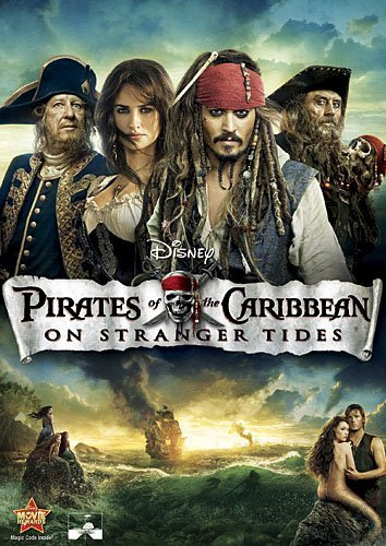 Pirates Of The Caribbean On Stranger Tides Depp Cruz Mcshane Pg13