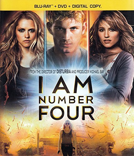 I Am Number Four Mendler Hicks Klyoko Blu Ray Ws Pg13 2 Br Incl. DVD Dc