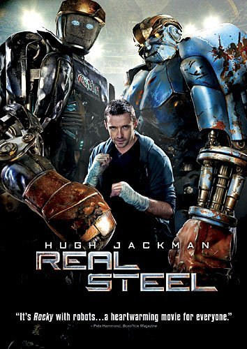 Real Steel Jackman Lilly Goyo DVD Pg13 Ws