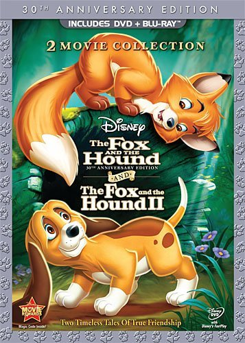 Fox & The Hound Fox & The Houn Fox & The Hound Fox & The Houn Ws 30th Anniv. Ed. DVD Pkg G 3 DVD Incl. Blu Ray