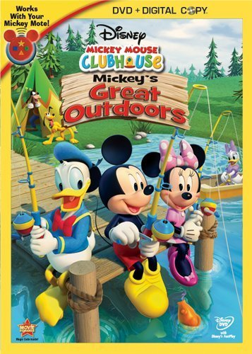 Mickey Mouse Clubhouse Mickey's Great Outdoors Nr 2 DVD