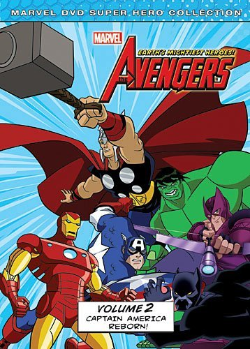 Avengers Earth's Mightiest Heroes Volume 2 DVD