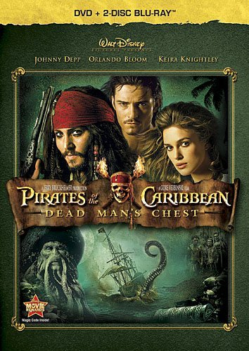 Pirates Of The Caribbean Dead Depp Bloom Knightly Blu Ray Ws Pg13 2 Br Incl. DVD