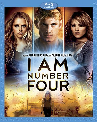 I Am Number Four Mendler Hicks Klyoko Blu Ray Ws Pg13