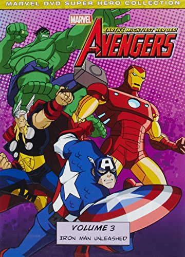 Avengers Earth's Mightiest Heroes Volume 3 DVD Tvy7