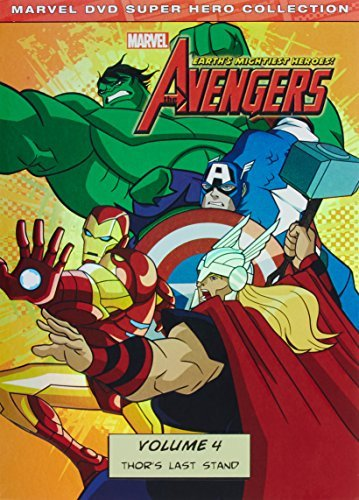 Avengers Earth's Mightiest Heroes Volume 4 DVD Tvy7