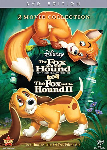 Fox & The Hound Fox & The Hound 2 Disney DVD G 30th Anniversary