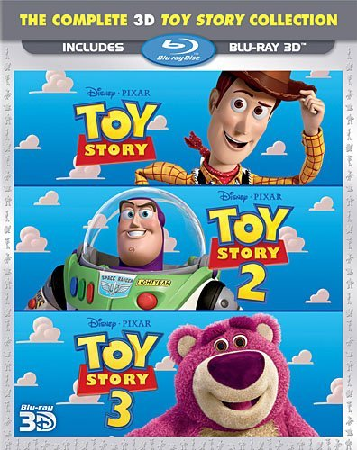 Toy Story 3d Trilogy Toy Story 3d Trilogy Ws Blu Ray G 3 DVD