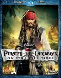 Pirates Of The Caribbean On Stranger Tides Depp Cruz Mcshane Pg13 Blu Ray DVD