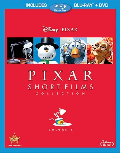 Pixar Short Films Volume 1 Blu Ray DVD Nr