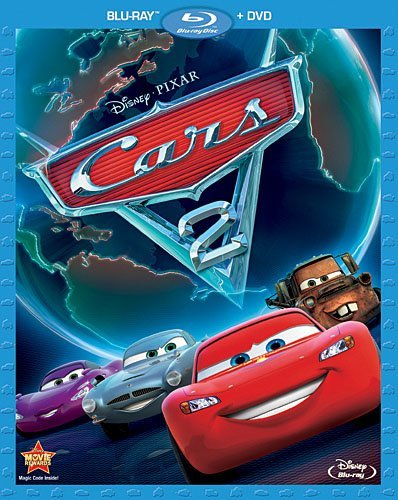 Cars 2 Disney Blu Ray DVD G