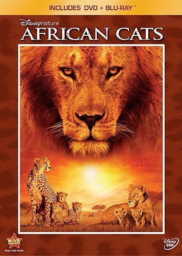 African Cats Disneynature Blu Ray Ws G Incl. Blu Ray