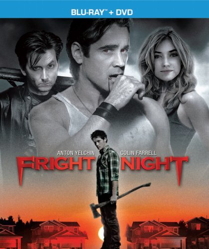 Fright Night (2011) Farrel Yelchin Poots Collette Blu Ray Ws R Incl. DVD