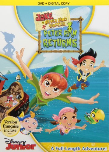 Jake & The Never Land Pirates Peter Pan Returns! DVD Dc Jake & The Never Land Pirates
