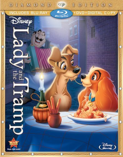 Lady & The Tramp Lady & The Tramp Blu Ray Ws Diamond Ed. G Incl. DVD Dc