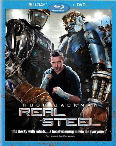 Real Steel Jackman Lilly Goyo Blu Ray DVD Pg13