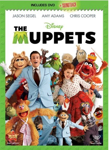 Muppets (dvd & Soundtrack Dowl Segel Adams Cooper Ws Pg Incl. Soundtrack Download C