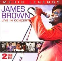 Brown James Live In Concert Incl. DVD Music Legends