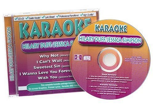 Duff Simpson Sing A Long Karaoke Why Not I Can't Wait Incl. Cdg