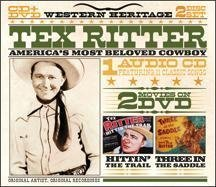 Tex Ritter America's Most Beloved Cowboy Incl. DVD Wester Heritage