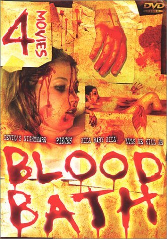 Movie Set Blood Bath Clr Nr