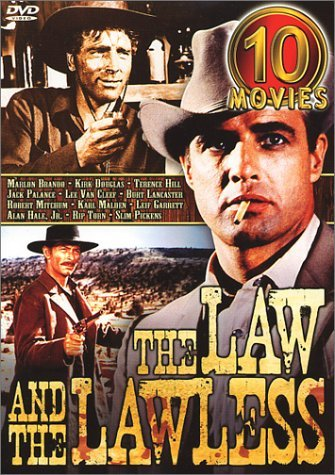 Movie Set Law & The Lawless Clr Nr 10 On 5