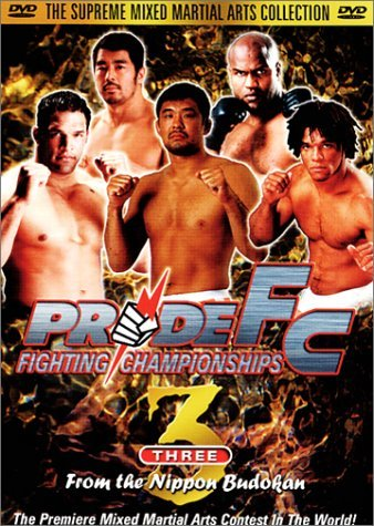 Pride Fc Vol. 3 From The Nippon Budokan Clr Nr