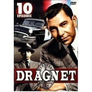 Dragnet 10 Episode DVD Set