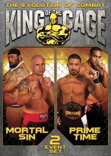 King Of The Cage Mortal Sin Prime Time Clr Nr 2 DVD